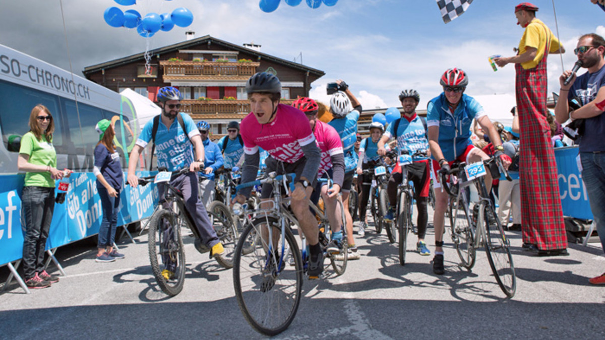 Cycling for children Event 2017
